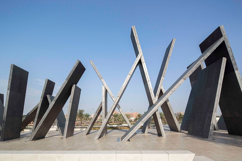 Abu Dhabi, Architecture, Design, Idris Khan, Martyrs, Memorial, Memorial Park, Memorial pavilion, Sculpture, UAE, UAP