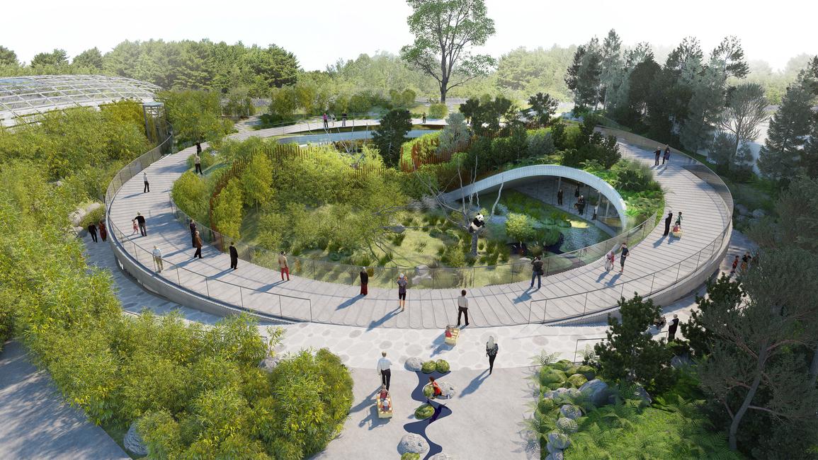 Architecture, Architecture news, BIG, Bjarke Ingels, Copenhagen Zoo, Endangered species, Panda, Wildlife