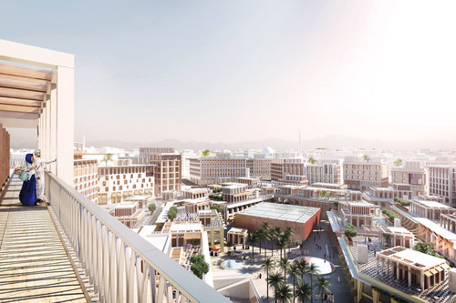 Allies and Morrison, Architecture, Architecture awards, Architecture news, Gulf, Heritage, Madinat Al Irfan, Masterplan, MIPIM Architectural Review Future Project Awards, Oman, Oman architecture, Vernacular, Wadi city