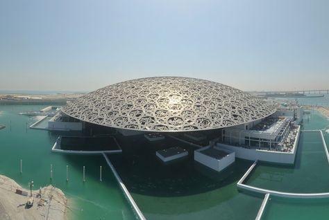 Architecture, Jean nouvel, Louvre Abu Dhabi, Time lapse