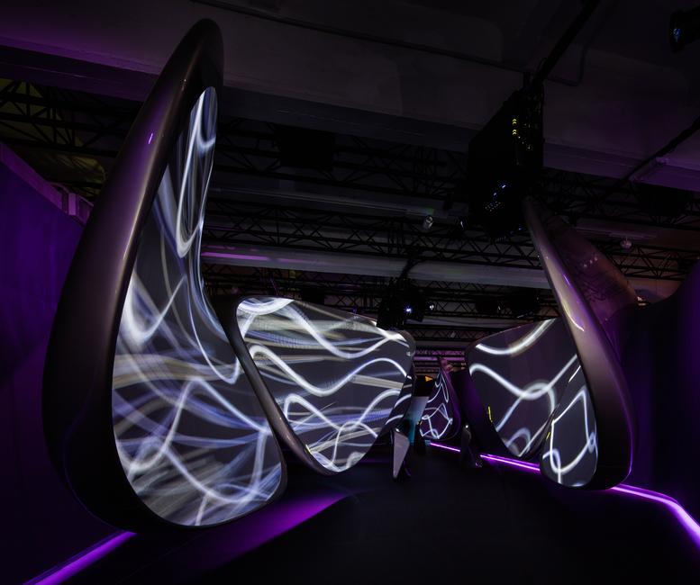Milan design week, Samsung, Samsung Galaxy, Samsung S8, Zaha Hadid Architects