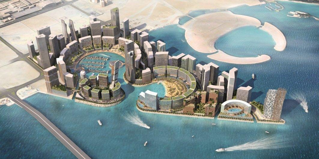 AECOM, Architecture, Architecture news, Bahrain, Bahrain architecture, Bahrain news, Construction, Development, Gulf architecture, HOK, Masterplan, Phase one Water Garden City, Sub consultants, Water Garden City, Water Garden City Bahrain, Waterfront Bahrain, Waterfront project