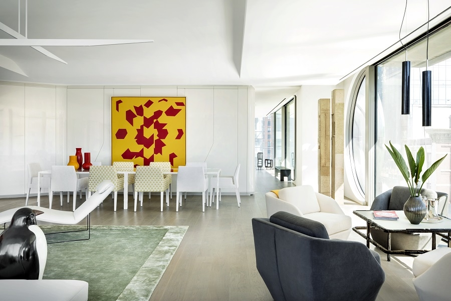 520 West 28th. New York, First look at Zaha Hadid interiors, High Line residential tower, Interior design, Interiors, Jennifer Post, Residential design, West Chin, Zaha Hadid, Zaha Hadid Architects, Zaha Hadid news