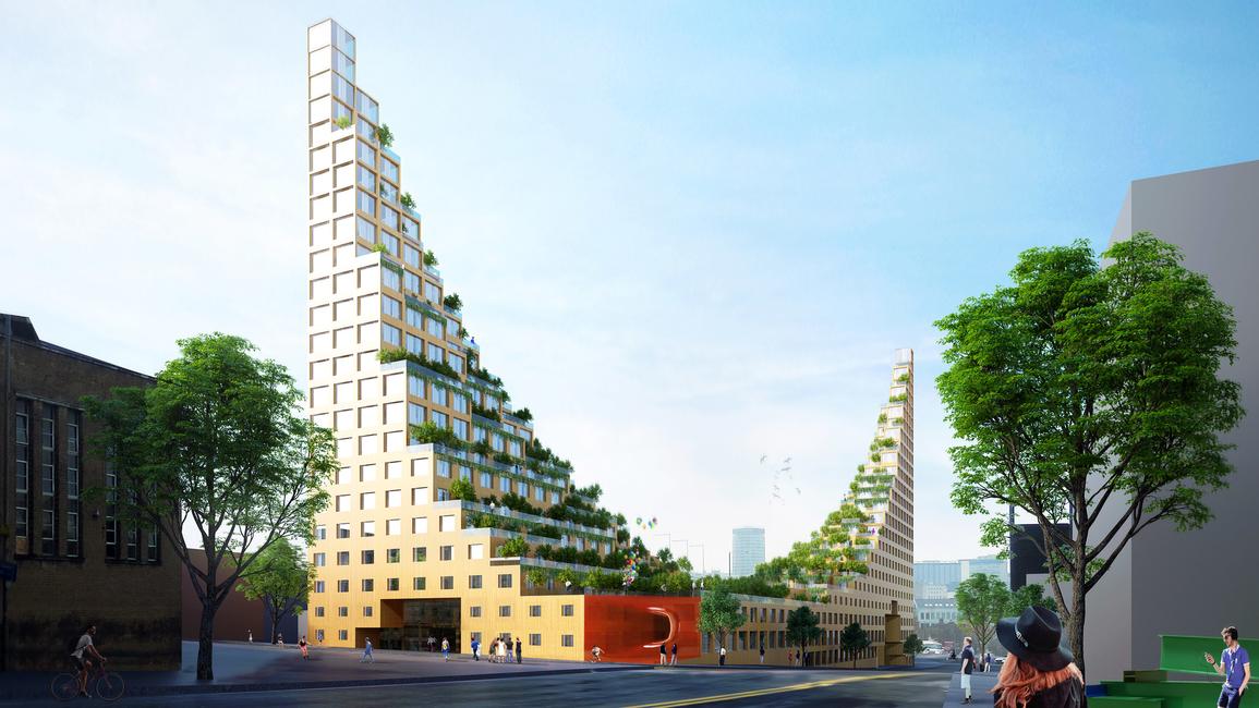 Architects of Invention, Architecture, Garden Hill, Hanging Gardens of Babylon, UK, Urban design