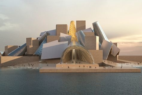 Abu Dhabi, Abu Dhabi museums, Abu Dhabi Tourism and Culture Authority, Architect, Architecture, Art Abu Dhabi, Construction, Frank Gehry, Guggenheim Abu Dhabi, Handover, Saadiyat Island, TCA, TDIC, Tourism Development and Investment Company
