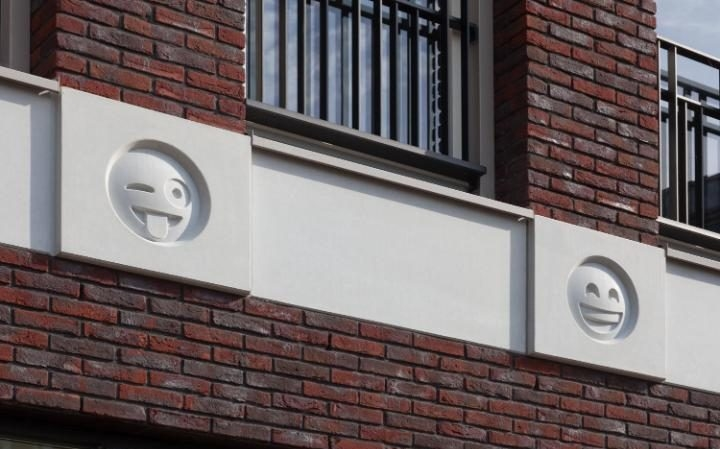Amersfoort, Architecture, Changiz Tehrani, Design, Digital images, Emoji, Gargoyles, Holland, Urban