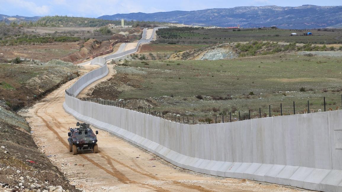 Architecture, Refugee crisis, Syria, Turkey wall