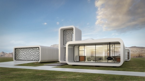 3D printed architecture, 3D printed building Dubai, 3D printing, Architecture, Dubai Municipality, Technology