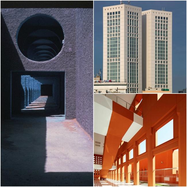 Architect, Architecture, Casablanca Twin Center, Houari Boumedienne Agricultural Village, Mohammed VI Polytechnic University, North Africa, Ricardo Boffil, Spanish architect