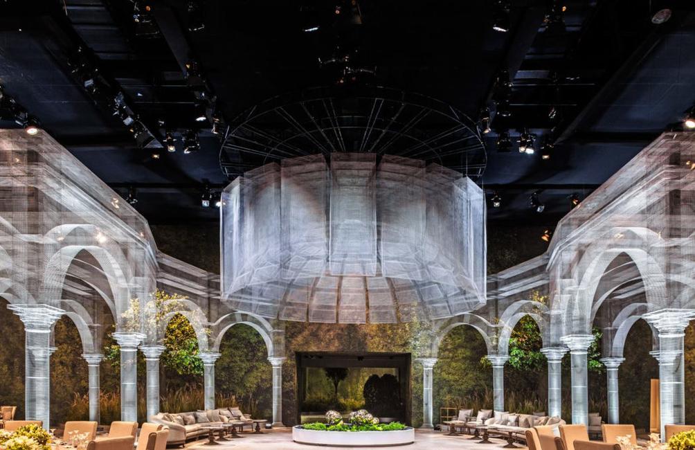 Abu Dhabi, Architects, Architecture, Artwork, Classical architecture, Design, Designlab experience, Edoardo Tresoldi, Geometries, Installation, Sculptor, Wire mesh