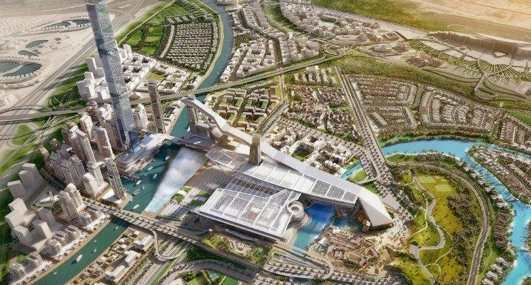 Architecture, Construction, Design contract, District 7, MAG Property Development, Master plan, Meydan City, Middle East, Parsons