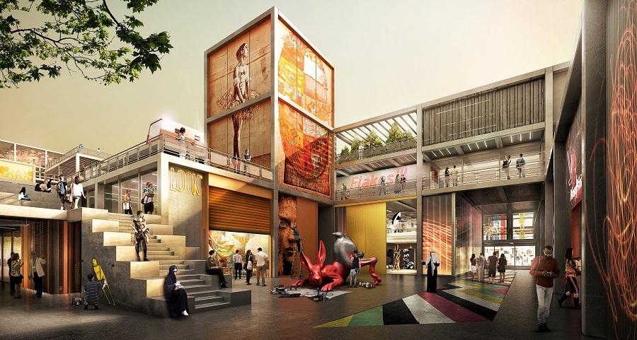 Architecture, D3, Dubai Design District, Dubai office, Foster + Partners, Foster + Partners Dubai office, Middle East
