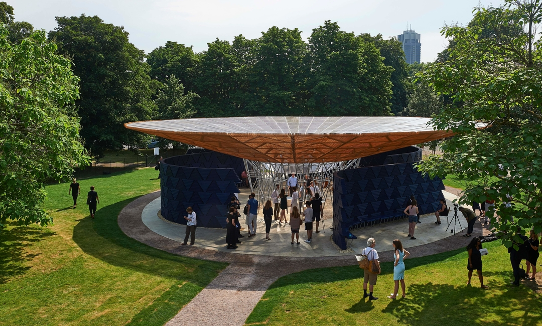Architecture, Burkino Faso, Francis Kere, London, Serpentine Gallery, Serpentine Pavilion, Social architecture, Temporary pavilion, Tree shaped Serpentine Pavilion