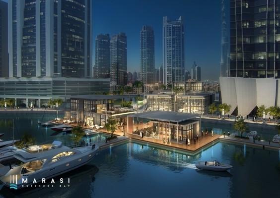 Building, Construction, Dubai, Dubai Canal, Dubai Holdings, Dubai Properties, Marasi Bay, Marasi Business Bay, Projects, U+A Architects