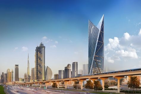 CBTUH, Sheikh Zayed Road, Tall buildings