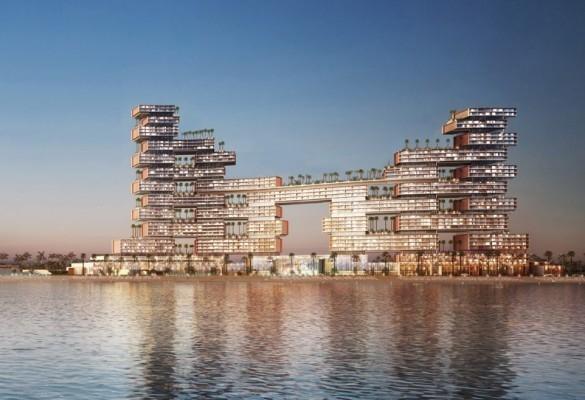 Architecture, Design, Dubai, Hotel, Hotel design, Kohn Pedersen Fox Associates, KPF, Luxury hotels, Palm Jumeirah, The Royal Atlantis hotel, UAE