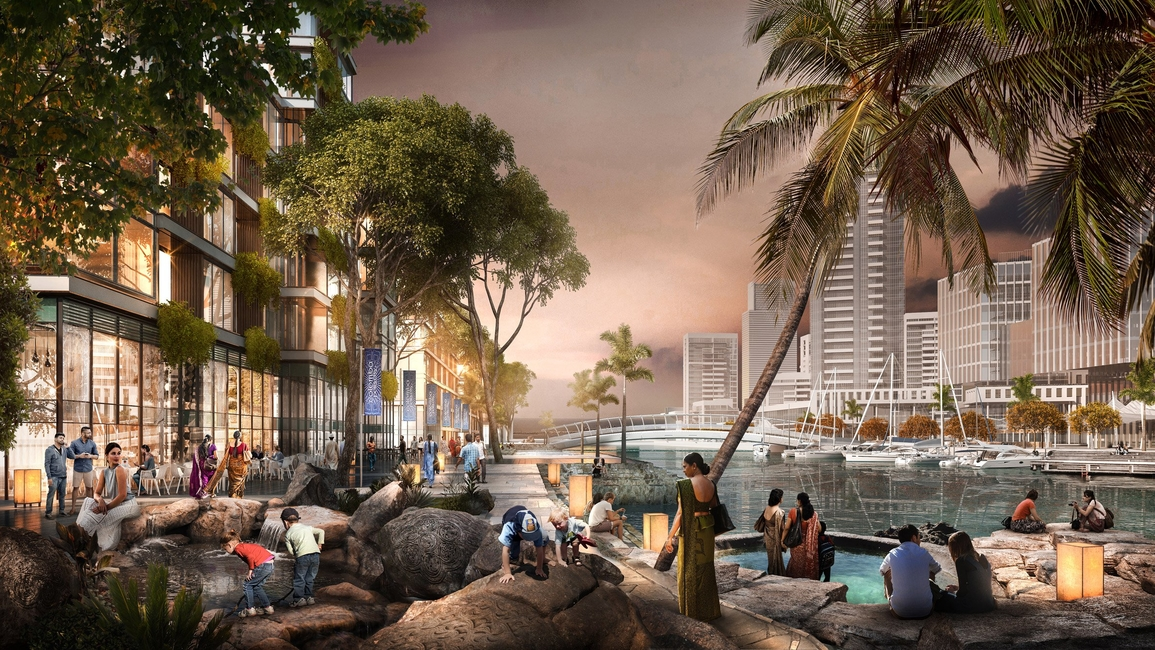 Architecture, Colombo, Culture and tourism, Masterplan, Owings & Merrill, Skidmore, SOM, Sri Lanka