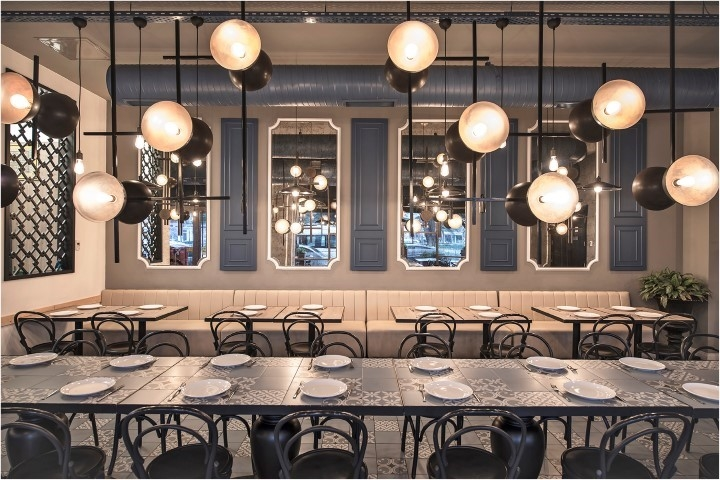 Caglayan Architects, F&B design, Industrial design, Istanbul, Lighting design, Restaurant design
