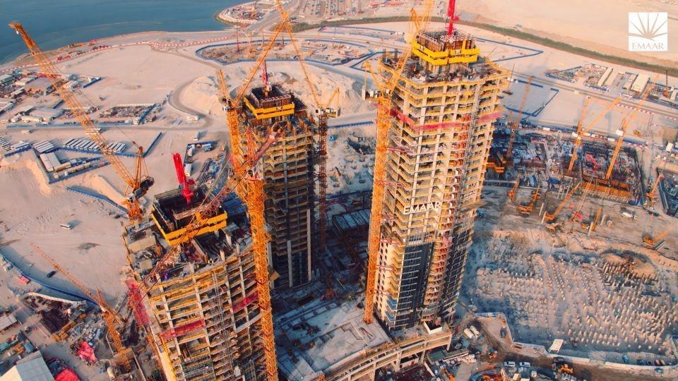 Calatrava, Calatrava International, Construction, Dubai Creek, Structural works, The Tower