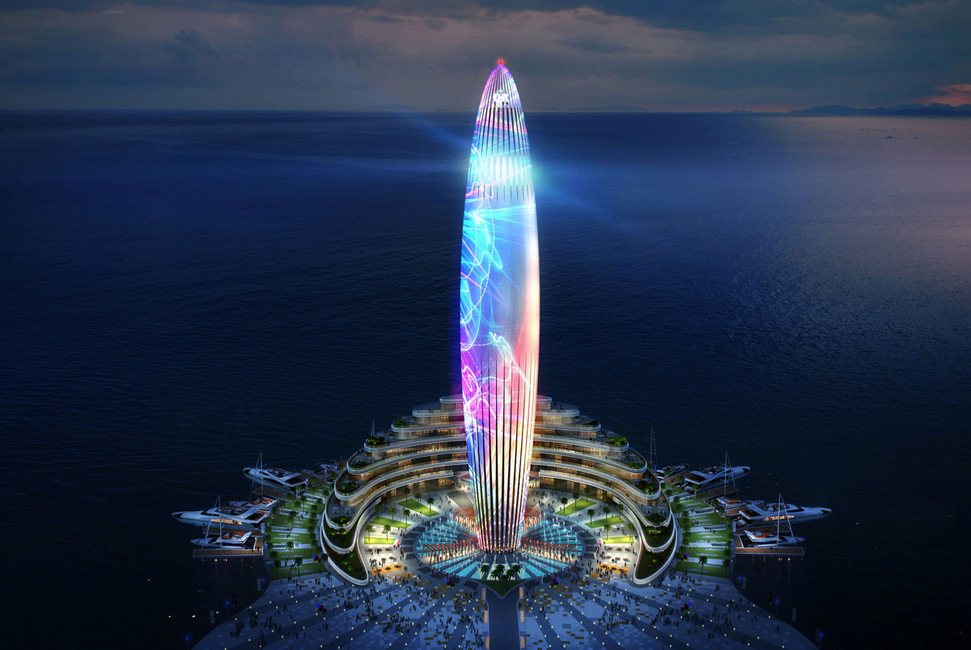 Architecture, Dubai, Dubai Harbour, Dubai Lighthouse, Hospitality, Marina, Masterplan, New Dubai mega project, UAE