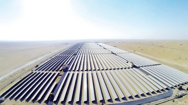 Dubai Lamp, Mohammed bin Rashid Al Maktoum Solar Park, Philips Lighting, Renewable energy