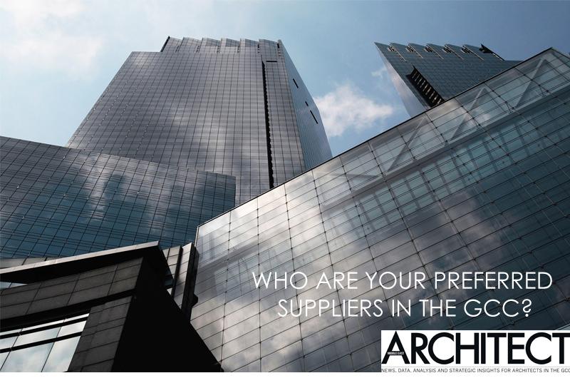 Architecture, GCC, Middle East Architect, Specifiers survey