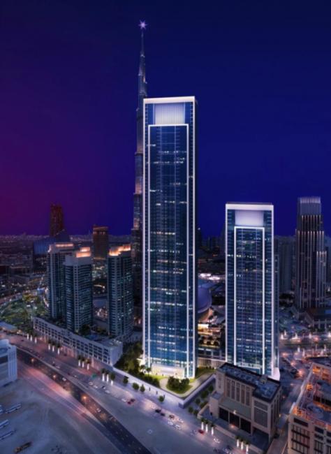 Architects, Architecture, Cityscape Global, Dubai, Dubai skyscrapers, Forte Towers, Japan, Nikken Sekki, Real estate, Skyscrapers, Supertall towers, Towers, UAE