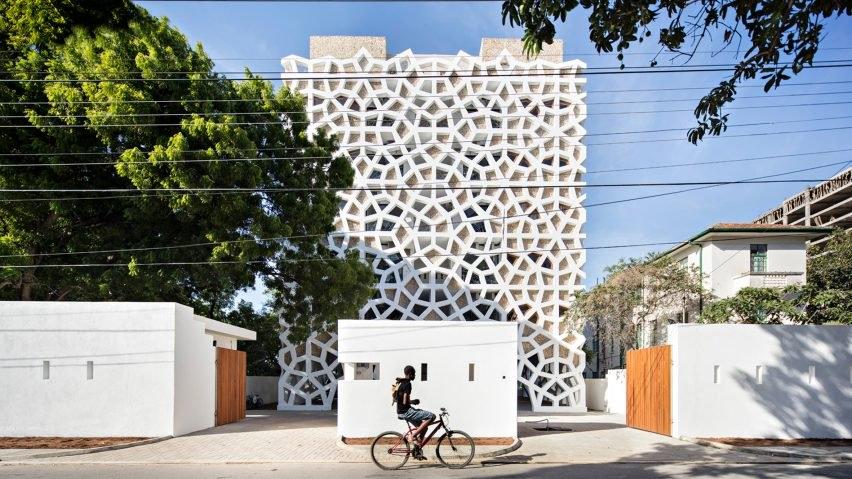 Architecture, Kenya, Mashrabiya, Mashrabiya facade, Middle Eastern architecture, Mombasa, Nairobi, Urko Sanchez Architects