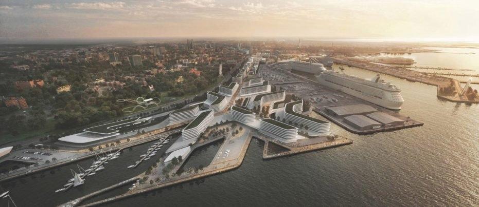 Architecture, Estonia architecture, Tallinn, Tallinn port contest, Waterfront developments, Zaha Hadid Architects
