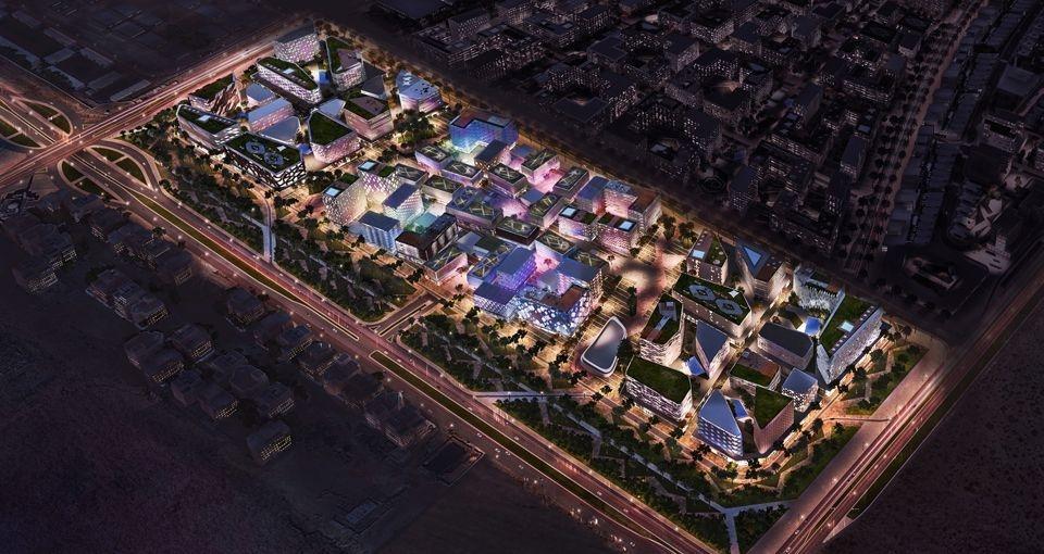 Al Mamsha, Alef Group, Car-free development Sharjah, Community masterplan, Masterplan, Sharjah, UAE