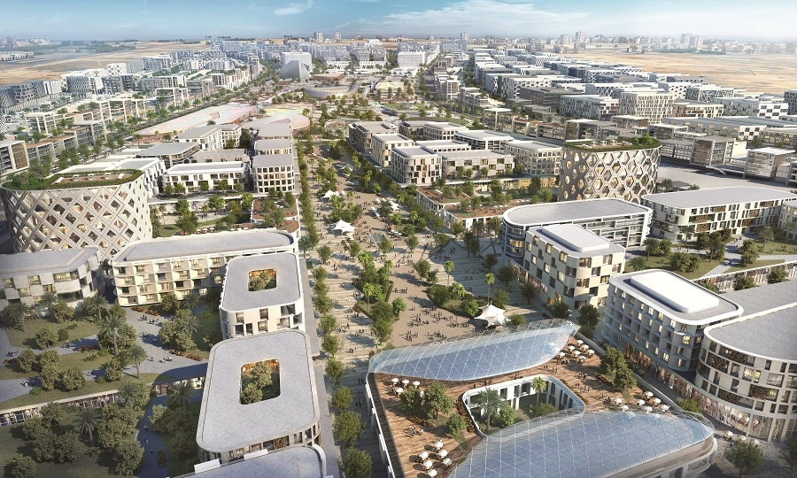 Aljada development, Arada, Architecture, Parametric design, Sharjah, United Arab Emirates, Urban design, Woods Bagot