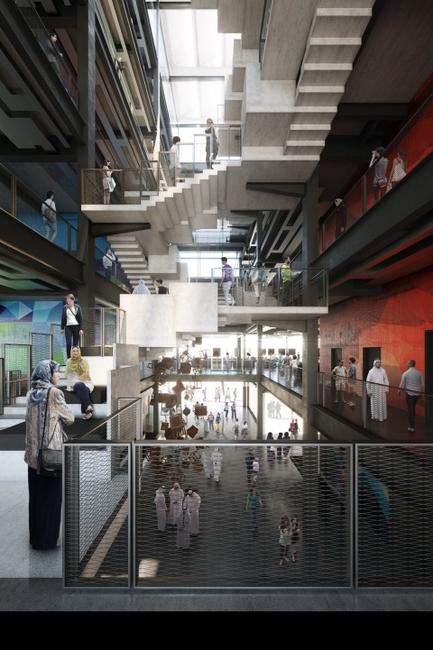 Architecture, Creative Community, D3, D3 Phase 2, Design school, DIDI, Dubai, Dubai Design District, Dubai Institute of Design and Innovation, Foster + Partners, UAE