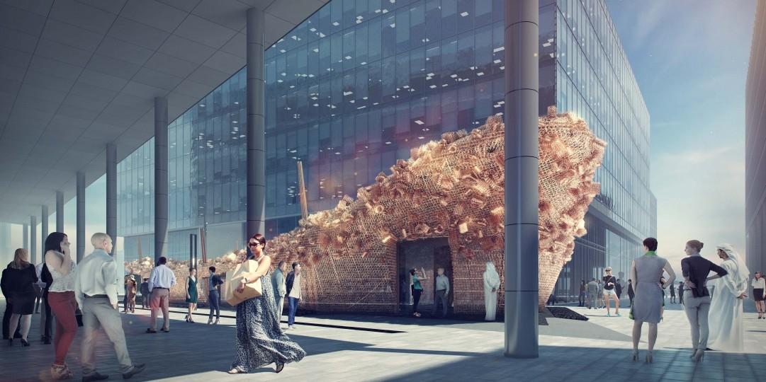 Abwab Pavilion, Architecture, Dubai Design District, Dubai Design Week, Fahed Architects, Fahed Majeed