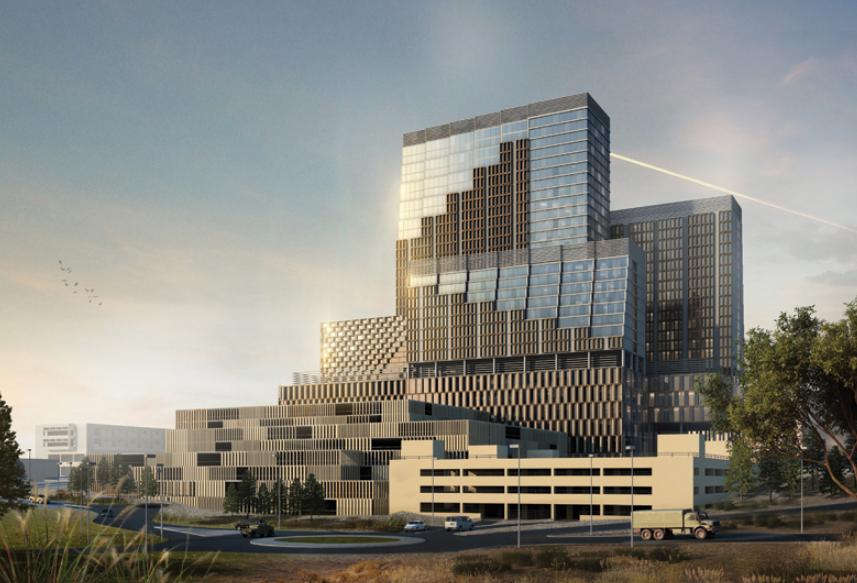 AECOM, Architecture, Jordan architecture, King Hussein Medical City