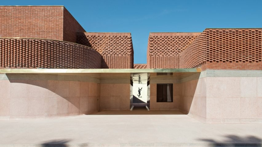 Architecture, Design, Marrakesh, Materials, Morocco, Yves Saint Laurent, Yves Saint Laurent Museum