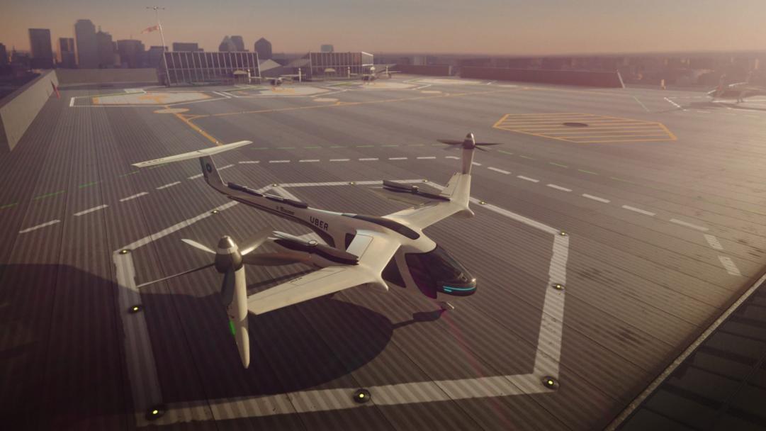 Flying taxis, Flying taxis in Dubai, NASA, Uber