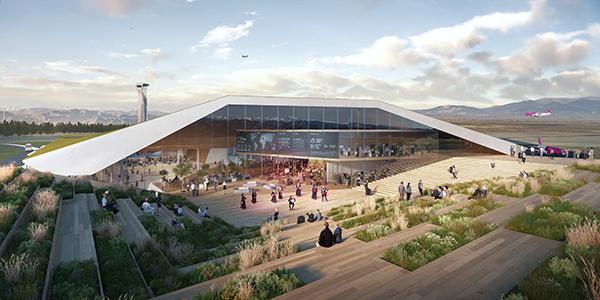 Airport design, Architecture, Georgia architecture, Kutaisi International Aiport, UNStudio