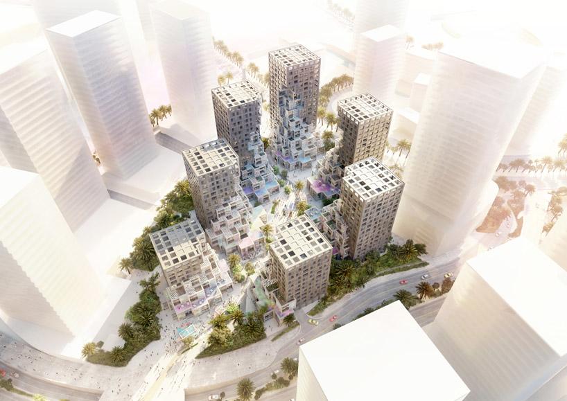 Abu Dhabi, Architecture, Makers District, MVRDV, Pixel, Reem Island