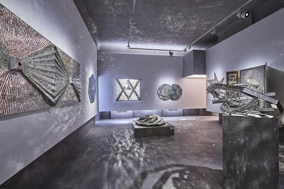 Art, Iranian art, Monir Museum, Monir Shahroudy Farmanfarmaian, Mosaics, Tehran
