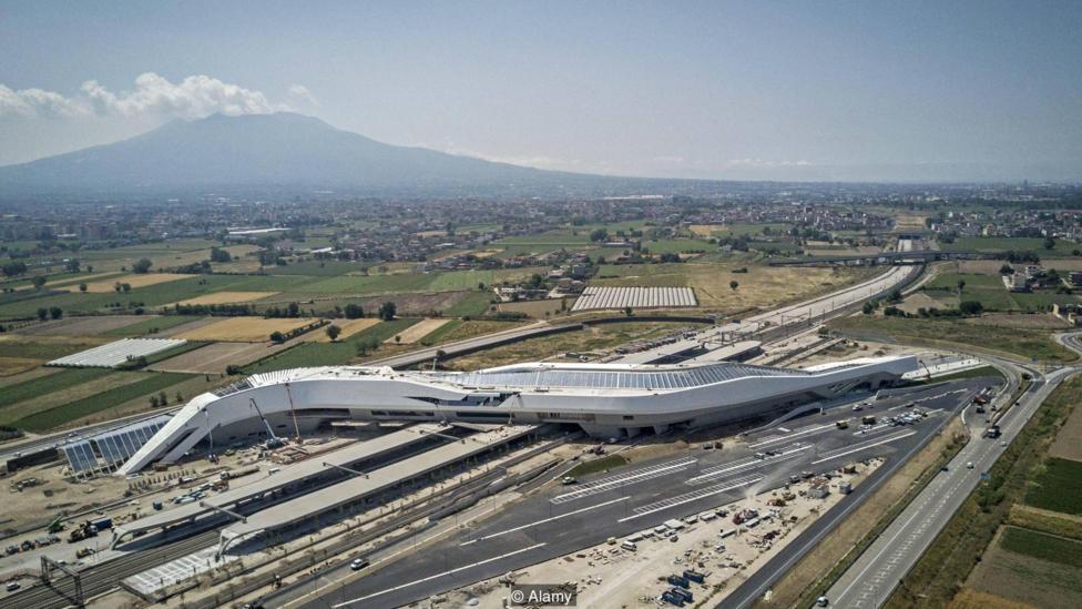 BBC Culture, Best buildings from 2017, Napoli afragola, Zaha Hadid Architects, ZHA