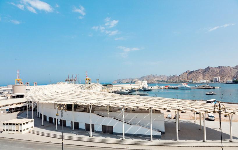 Architecture, Muscat, Muttrah Fish Market, Oman, Snohetta