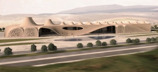 Architecture in iran, Habibeh Madjdabadi, Iran architects, Lunar Complex