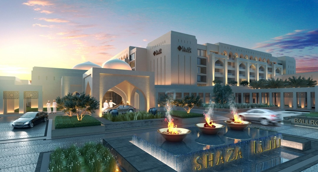 Architecture, GAJ, Godwin Austen Johnson, Hotels and resorts in Oman, Shaza Salalah