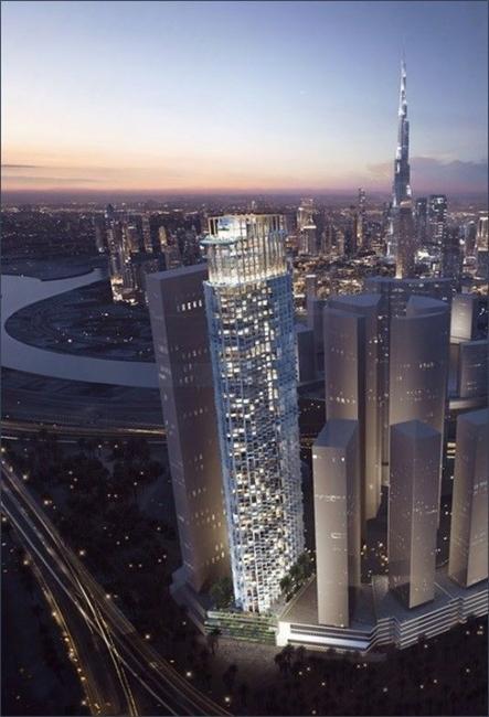 Aedas, Architecture, Dubai buildings, Kone, WOW Hotel and Apartments