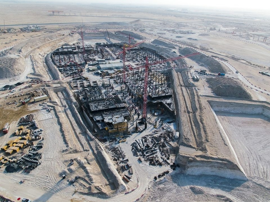 On site of Expo 2020 Dubai
