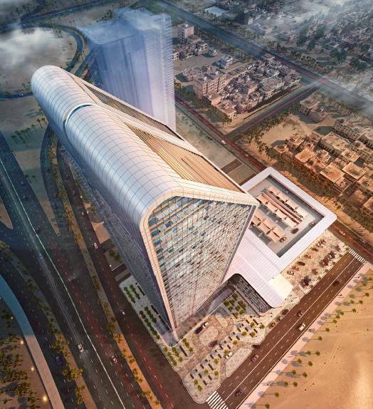 CallisonRTKL, Riyadh architecture, Saudi Arabia architecture, Saudi British Bank