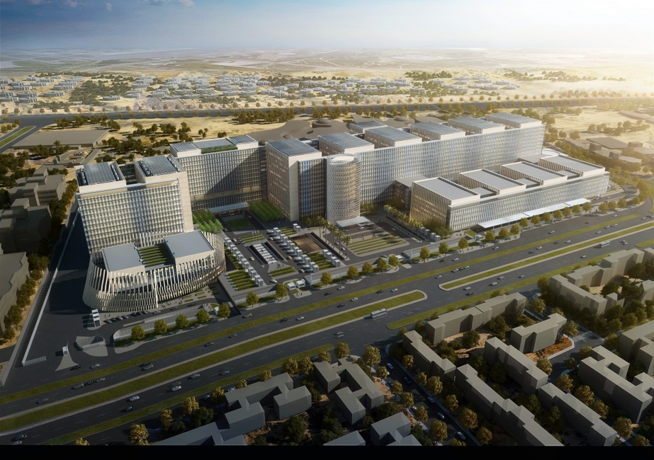 Architecture, Egypt medical centre, Medical cancer centre, Owings & Merrill, Skidmore, SOM