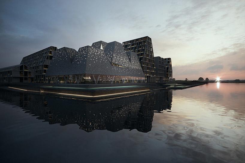 Danish architecture, Kengo Kuma and Associates, Waterfront Culture Centre Copenhagen