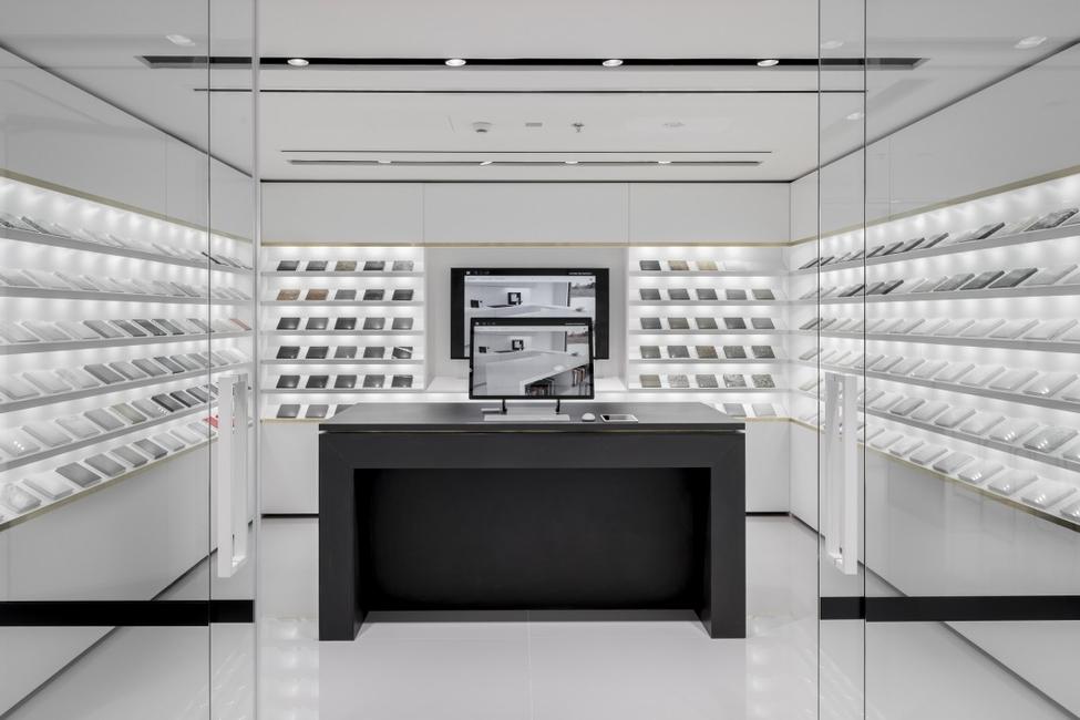 Architectural surfaces, Cosentino, Cosentino City showroom Dubai, Dubai Design District
