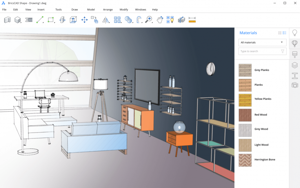 3D modelling software, Architecture software, BIM, Bricsys, CAD, Technology
